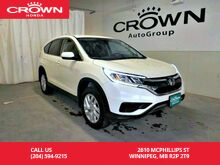2015_Honda_CR-V_SE/awd/ one owner lease return/low kms/ heated seats/push start_ Winnipeg MB