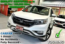 2015 Honda CR-V Touring - CARFAX Certified One Owner - Fully Serviced - All Service Records