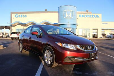 2015_Honda_Civic_4dr CVT LX_ Richmond KY