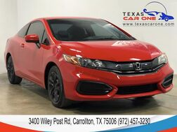2015_Honda_Civic Coupe_LX AUTOMATIC BLUETOOTH REARVIEW CAMERA WITH GUIDELINES CRUISE CO_ Carrollton TX