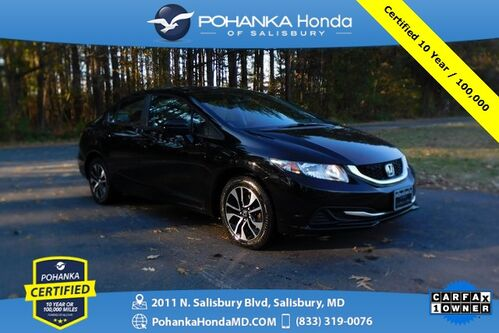 2015_Honda_Civic_EX ** Pohanka Certified 10 Year / 100,000  **_ Salisbury MD