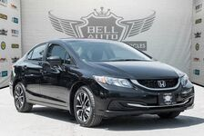 2015 Honda Civic EX 360 SURROUND CAMERA SUNROOF BLUETOOTH ALLOY WHEELS