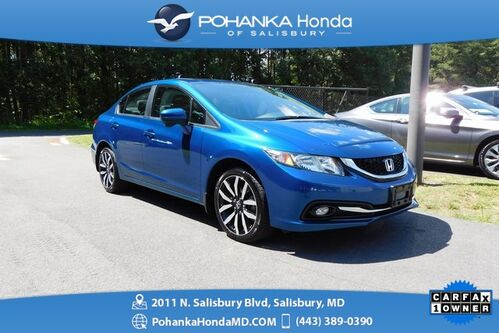 2015_Honda_Civic_EX-L ** LEATHER & SUNROOF ** ONE OWNER **_ Salisbury MD