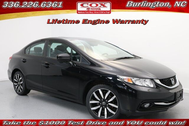 2015 Honda Civic EX-L Burlington NC
