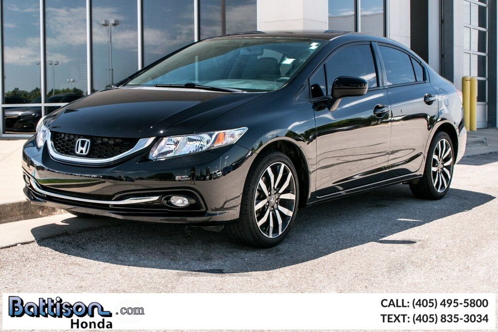 2015_Honda_Civic_EX-L_ Oklahoma City OK