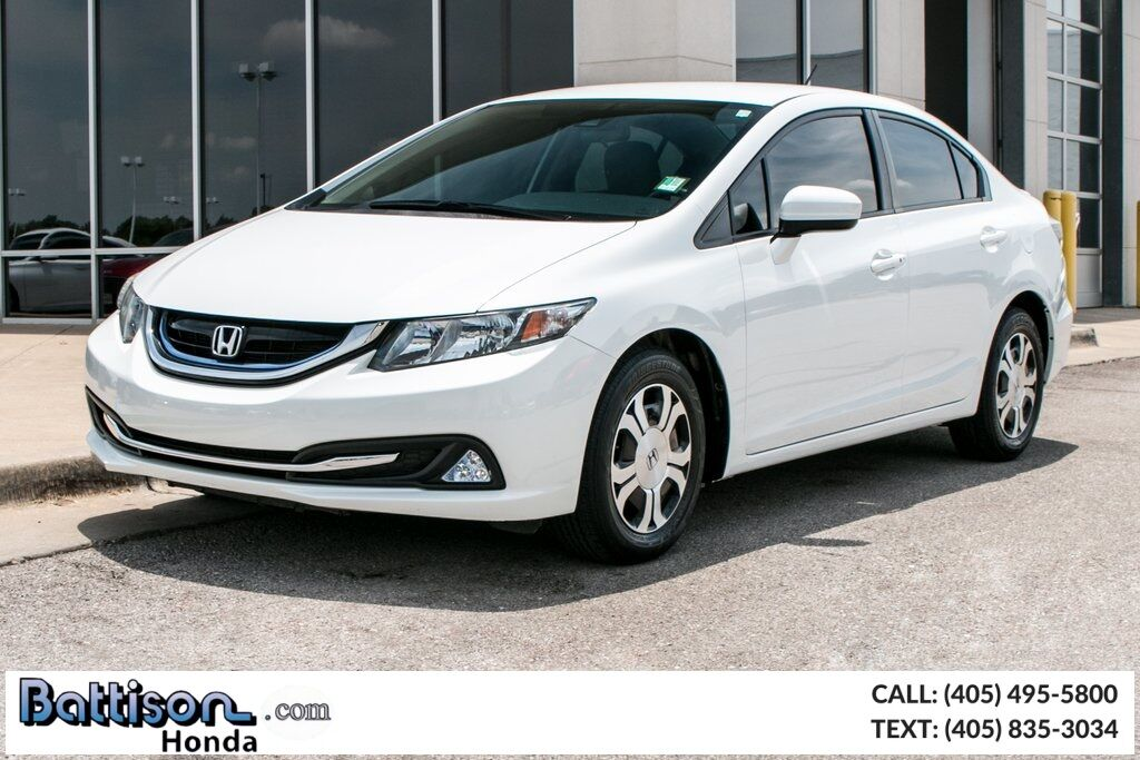 2015_Honda_Civic_Hybrid_ Oklahoma City OK