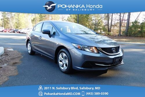 2015_Honda_Civic_LX ** GUARANTEED FINANCING ** ONE OWNER **_ Salisbury MD