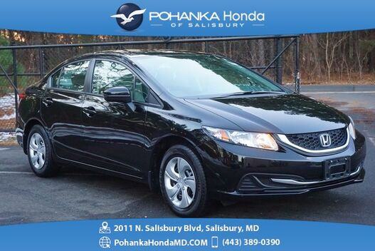 2015_Honda_Civic_LX ** LOW MILES ** REAR VIEW CAMERA ** ONE OWNER **_ Salisbury MD