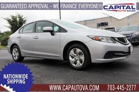2015_Honda_Civic_LX_ Chantilly VA