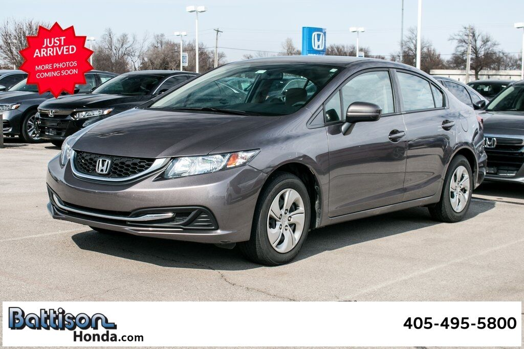2015_Honda_Civic_LX_ Oklahoma City OK