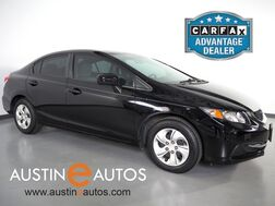 2015_Honda_Civic LX Sedan_*AUTOMATIC, BACKUP-CAMERA, STEERING WHEEL CONTROLS, CRUISE CONTROL, BLUETOOTH PHONE & AUDIO_ Round Rock TX