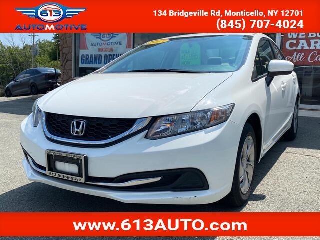 2015 Honda Civic LX Sedan CVT Ulster County NY
