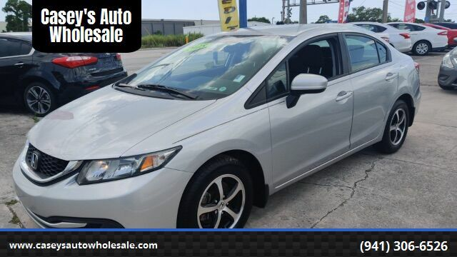 2015 Honda Civic SE Sedan CVT Sarasota FL