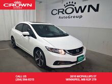 2015_Honda_Civic Sedan_4dr Man Si/LOW KMS/PUSH START BUTTON/SUNROOF/BACK UP CAM/_ Winnipeg MB