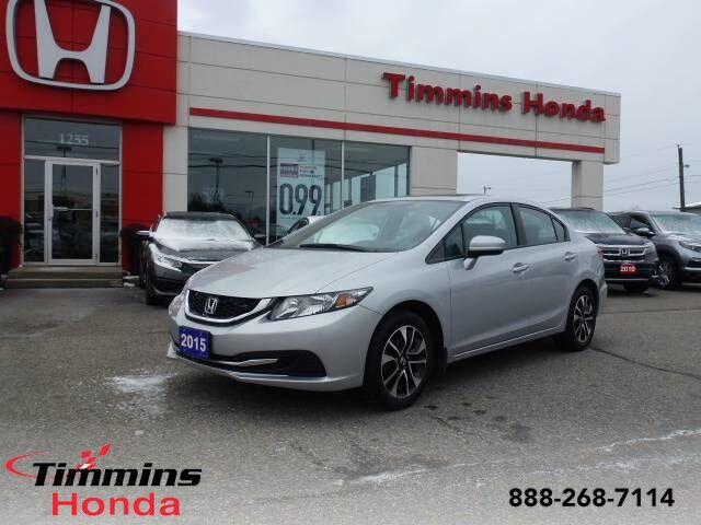 2015 Honda Civic Sedan EX Timmins ON