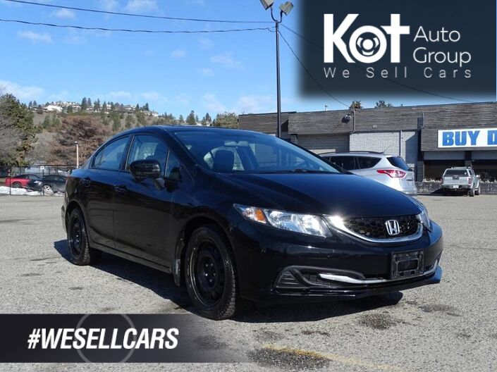2015 Honda Civic Sedan EX, Automatic Transmission, Low KM's, One owner, No Accidents! H Kelowna BC