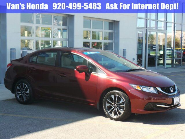 2015 Honda Civic Sedan EX Green Bay WI