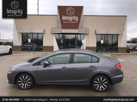 2015 Honda Civic Sedan EX-L Wichita KS