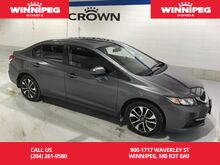 2015_Honda_Civic Sedan_EX/Rear view camera/Heated seats/Bluetooth/One owner_ Winnipeg MB