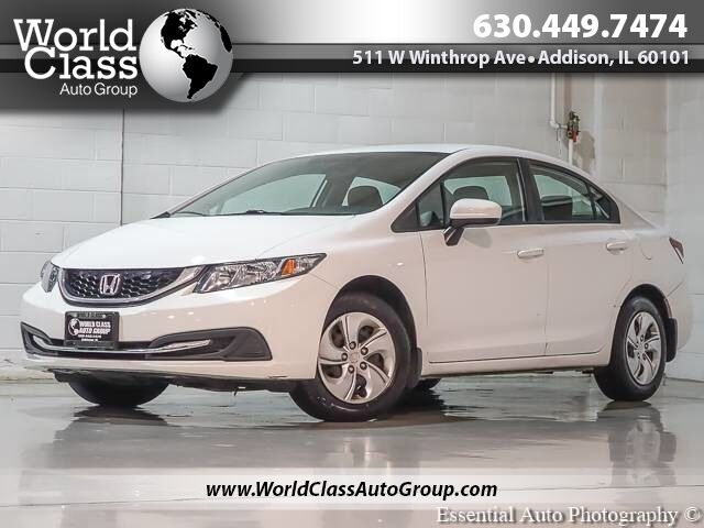 2015 Honda Civic Sedan LX - BACKUP CAMERA ALLOY WHEELS CLEAN AUX INPUT Chicago IL