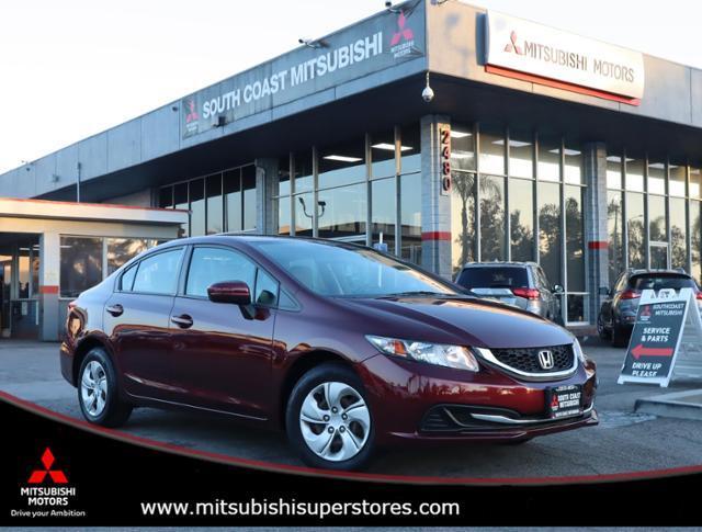 2015 Honda Civic Sedan LX Costa Mesa CA