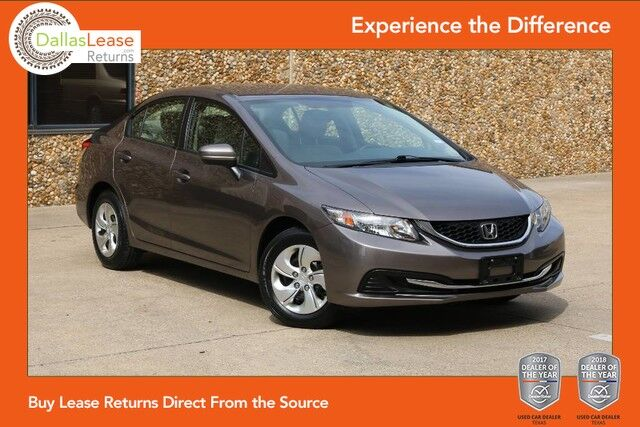 2015 Honda Civic Sedan LX Dallas TX