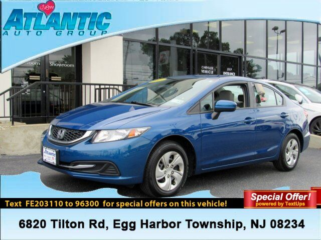2015 Honda Civic Sedan LX Egg Harbor Township NJ