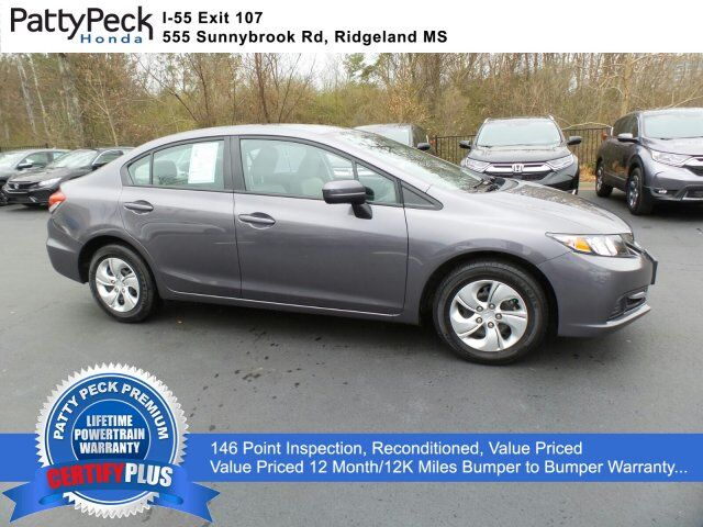 2015 Honda Civic Sedan LX FWD Jackson MS