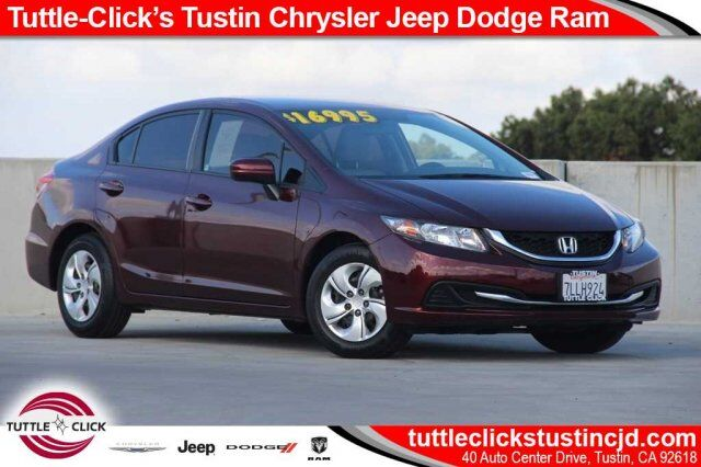 2015 Honda Civic Sedan LX Irvine CA