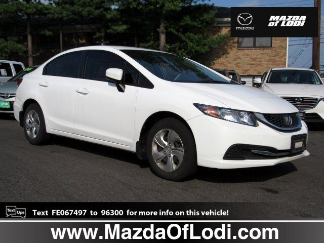 2015 Honda Civic Sedan LX Lodi NJ