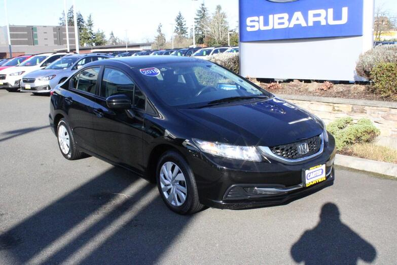 2015 Honda Civic Sedan LX Seattle WA