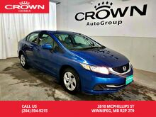 2015_Honda_Civic Sedan_LX***Long Weekend Special***/low kms/ econ mode assist/ heated seats_ Winnipeg MB