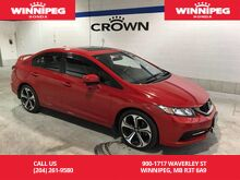 2015_Honda_Civic Sedan_Navigation/Sunroof/18' Alloy wheels/One Owner_ Winnipeg MB
