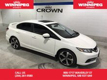 2015_Honda_Civic Sedan_One owner/Lease return/Navigation/Rear view camera_ Winnipeg MB