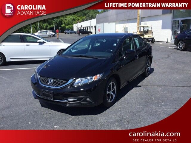 2015 Honda Civic Sedan SE Wilkesboro NC