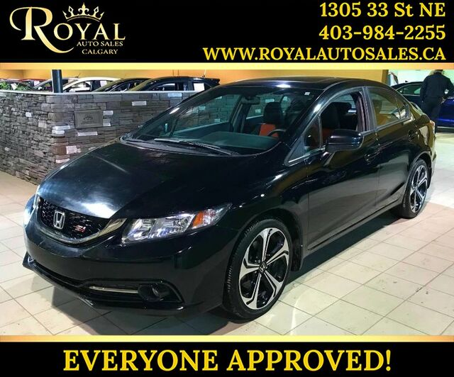2015_Honda_Civic Sedan_Si SUNROOF, HEATED SEATS, BLUETOOTH_ Calgary AB