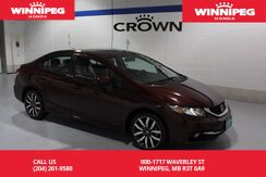 2015_Honda_Civic Sedan_Touring/Leather/heated seats/Navigation/Sunroof_ Winnipeg MB