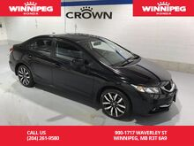 2015_Honda_Civic Sedan_Touring/One Owner/Lease return/Navigation/Leather_ Winnipeg MB
