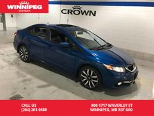 2015 Honda Civic Sedan Touring/One owner/Lease return/Low KM
