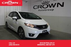 2015_Honda_Fit_EX-L Navi / LEATHER TRIMMED HEATED SEATS/ MANUAL / PUSH START/ NAVIGATION SYS_ Winnipeg MB
