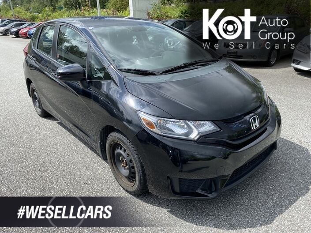 2015 Honda Fit LX! HATCHBACK! MANUAL! 1 OWNER! RARE PIECE! Kelowna BC