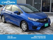 2015_Honda_Fit_LX Manual Transmission *Local/One Owner/Remote Starter*_ Winnipeg MB