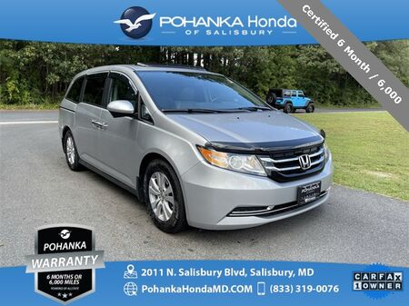 2015_Honda_Odyssey_EX-L ** Certified 6 Month / 6,000 **_ Salisbury MD