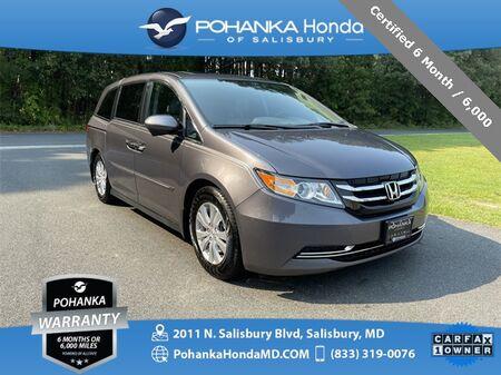 2015_Honda_Odyssey_EX-L **Certified 6 Month / 6,000 **_ Salisbury MD