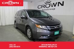 2015_Honda_Odyssey_EX/lease return/low kms/push start button/back up cam/ heated seats_ Winnipeg MB