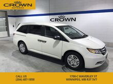 2015_Honda_Odyssey_LX *1 Owner Lease return/ Accident free*_ Winnipeg MB