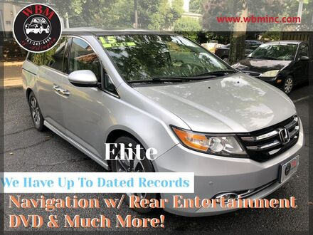 2015_Honda_Odyssey_Touring Elite_ Arlington VA