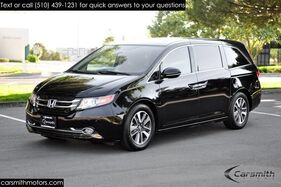 2015_Honda_Odyssey Touring Elite with DVD and Vacuum System_CA Car and CPO to 100K Miles included in price._ Fremont CA