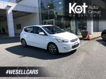 2015 Hyundai ACCENT GLS! HATCHBACK! MANUAL! SUNROOF! BLUETOOTH! HEATED SEATS! 1 OWNER!