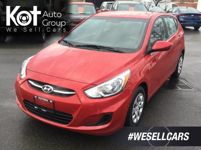 2015 Hyundai Accent GL Auto Hatchback One Owner! Heated Front Seats Victoria BC